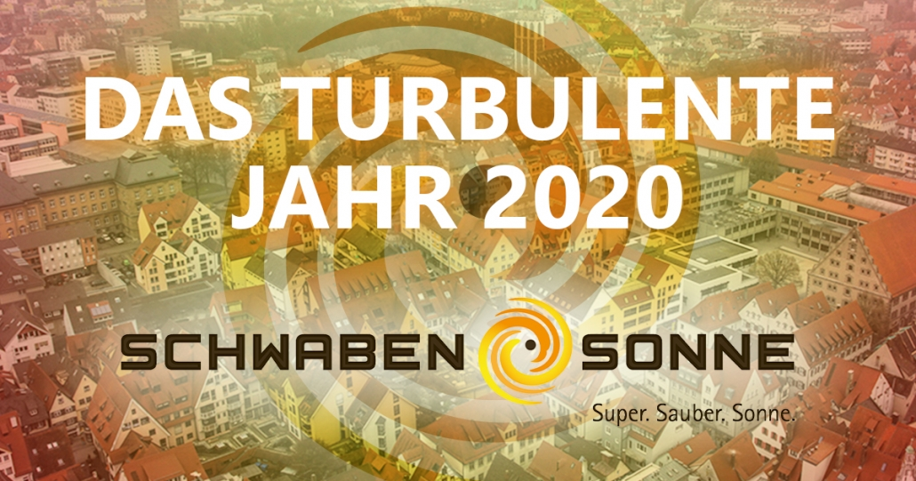 Das turbulente Jahr 2020